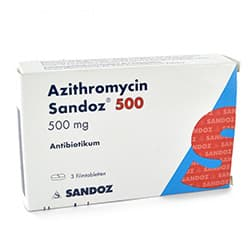 Azithromycin Packung