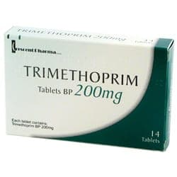 Trimethoprime 14 mal 200mg Tabletten Verpackung