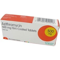 Antibiotique Azithromycine disponible à l'achat